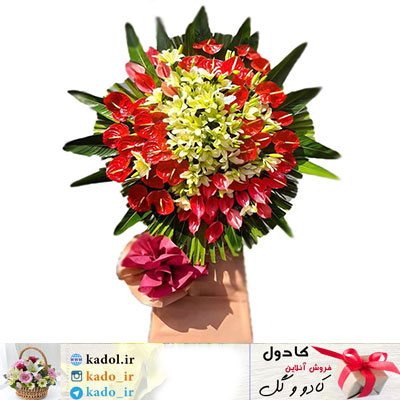 تاج گل تبریک