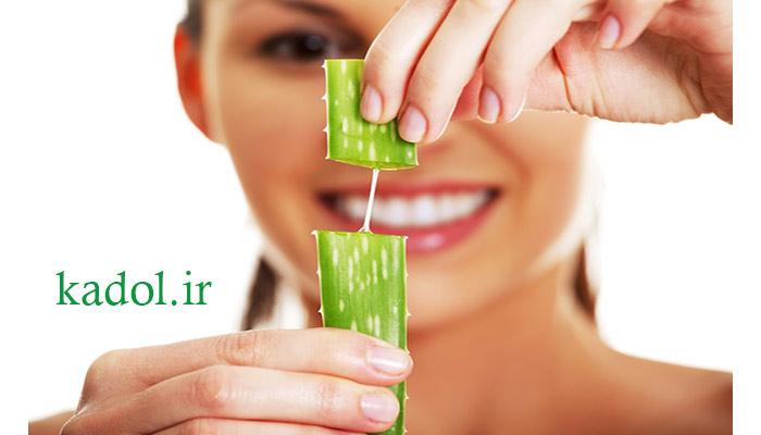 بهداشت دهان و دندان با گیاه آلوورا